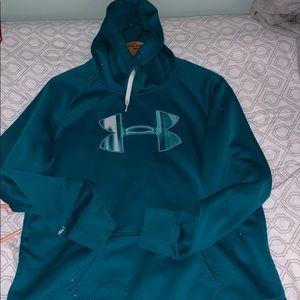 blue under armor sweatshirt